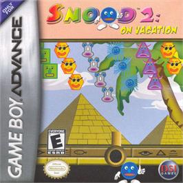 Box cover for Snood 2: On Vacation on the Nintendo Game Boy Advance.