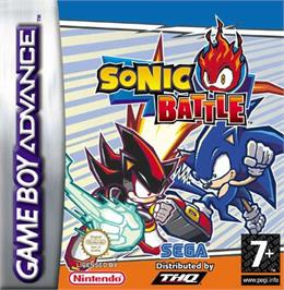 Box cover for Sonic Battle on the Nintendo Game Boy Advance.