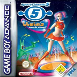 Box cover for Space Channel 5: Ulala's Cosmic Attack on the Nintendo Game Boy Advance.