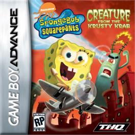 Box cover for SpongeBob SquarePants: Creature from the Krusty Krab on the Nintendo Game Boy Advance.
