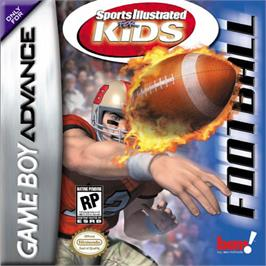 Box cover for Sports Illustrated for Kids: Football on the Nintendo Game Boy Advance.