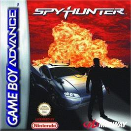 Box cover for Spy Hunter / Super Sprint on the Nintendo Game Boy Advance.