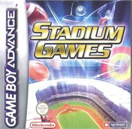 Box cover for Stadium Games on the Nintendo Game Boy Advance.