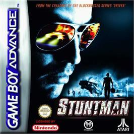 Box cover for Stuntman on the Nintendo Game Boy Advance.
