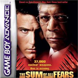 Box cover for Sum of All Fears on the Nintendo Game Boy Advance.