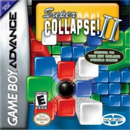 Box cover for Super Collapse! 2 on the Nintendo Game Boy Advance.
