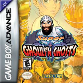 Box cover for Super Ghouls 'N Ghosts on the Nintendo Game Boy Advance.