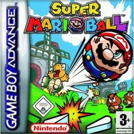 Box cover for Super Mario Bros. 3 on the Nintendo Game Boy Advance.