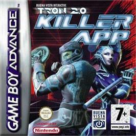 Box cover for TRON 2.0: Killer App on the Nintendo Game Boy Advance.
