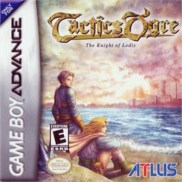 Box cover for Tactics Ogre: The Knight of Lodis on the Nintendo Game Boy Advance.