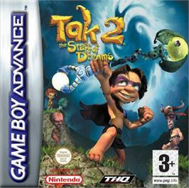 Box cover for Tak 2: The Staff of Dreams on the Nintendo Game Boy Advance.