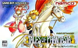 Box cover for Tales of Phantasia on the Nintendo Game Boy Advance.