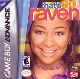Box cover for That's So Raven on the Nintendo Game Boy Advance.