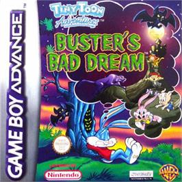 Box cover for Tiny Toon Adventures: Buster's Bad Dream on the Nintendo Game Boy Advance.