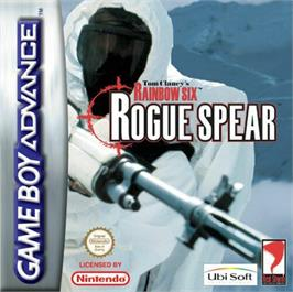Box cover for Tom Clancy's Rainbow Six: Rogue Spear on the Nintendo Game Boy Advance.