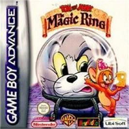 Box cover for Tom and Jerry: The Magic Ring on the Nintendo Game Boy Advance.