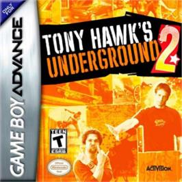 Box cover for Tony Hawk's Underground 2 on the Nintendo Game Boy Advance.