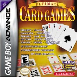 Box cover for Ultimate Card Games on the Nintendo Game Boy Advance.