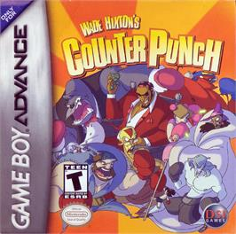 Box cover for Wade Hixton's Counter Punch on the Nintendo Game Boy Advance.