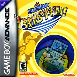 Box cover for WarioWare Twisted on the Nintendo Game Boy Advance.