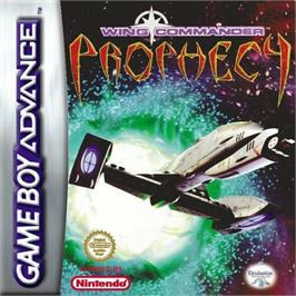Box cover for Wing Commander: Prophecy on the Nintendo Game Boy Advance.