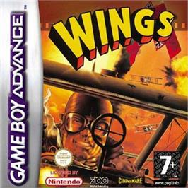 Box cover for Wings on the Nintendo Game Boy Advance.