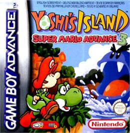 Box cover for Yoshi's Island: Super Mario Advance 3 on the Nintendo Game Boy Advance.