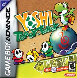 Box cover for Yoshi Topsy-Turvy on the Nintendo Game Boy Advance.