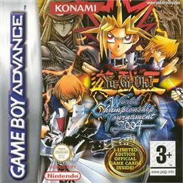 Box cover for Yu-Gi-Oh! World Championship Tournament 2004 on the Nintendo Game Boy Advance.