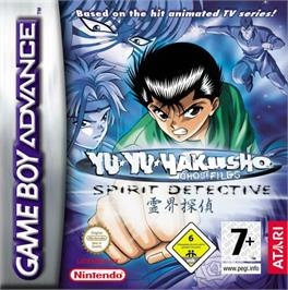 Box cover for Yu Yu Hakusho: Spirit Detective on the Nintendo Game Boy Advance.