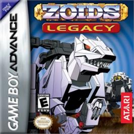 Box cover for Zoids: Legacy on the Nintendo Game Boy Advance.