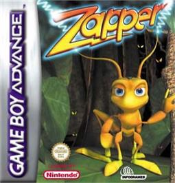 Box cover for Zoo Keeper on the Nintendo Game Boy Advance.