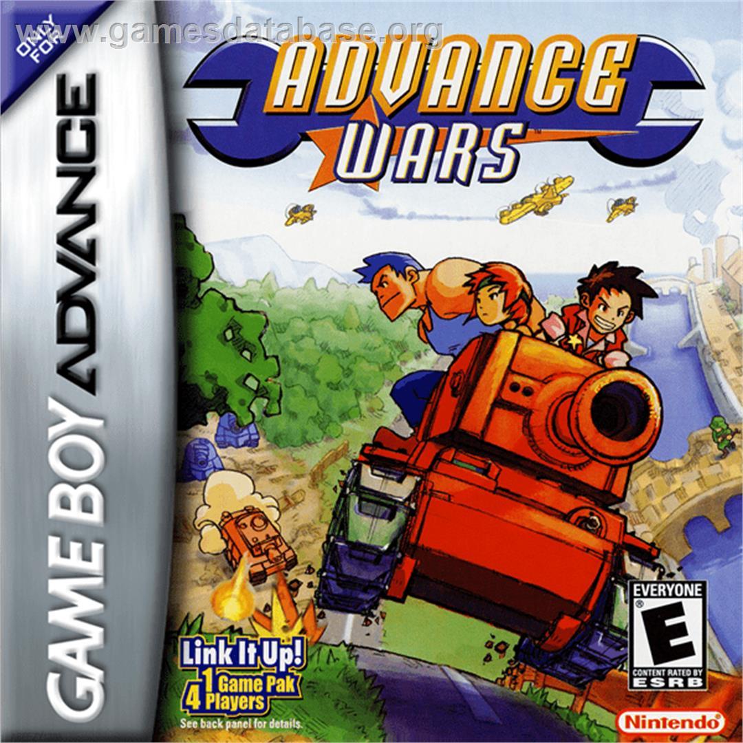 advance wars game boy advance