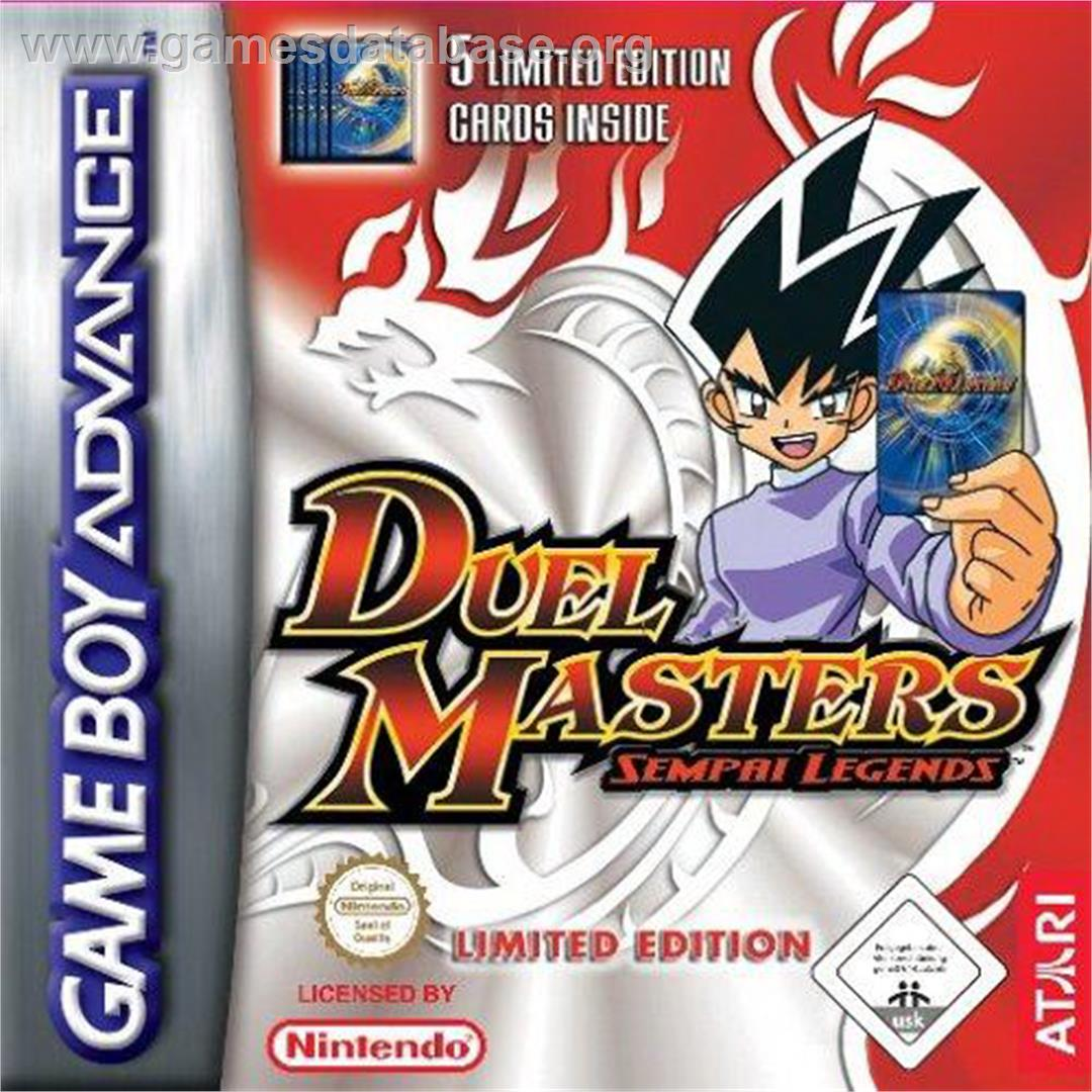 for Duel Masters Sempai Legends on the Nintendo Game Boy Advance