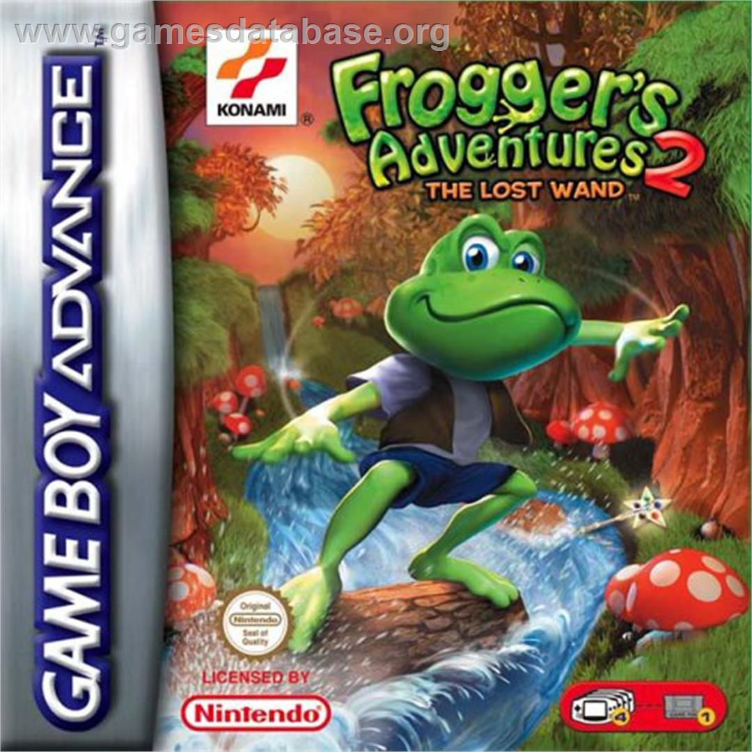 Frogger S Adventures 2 The Lost Wand Nintendo Game Boy