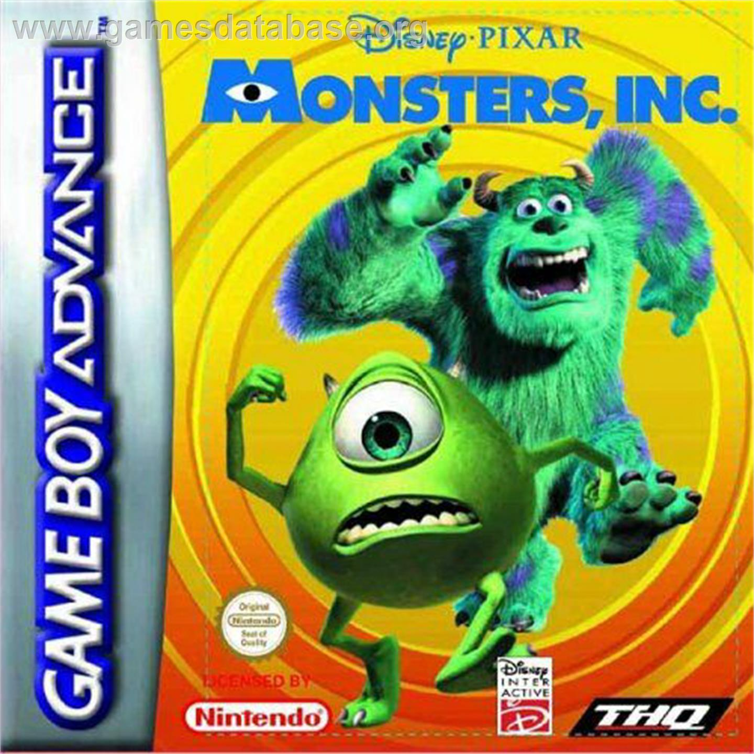 Monsters Inc. - Nintendo Game Boy Advance - Games Database