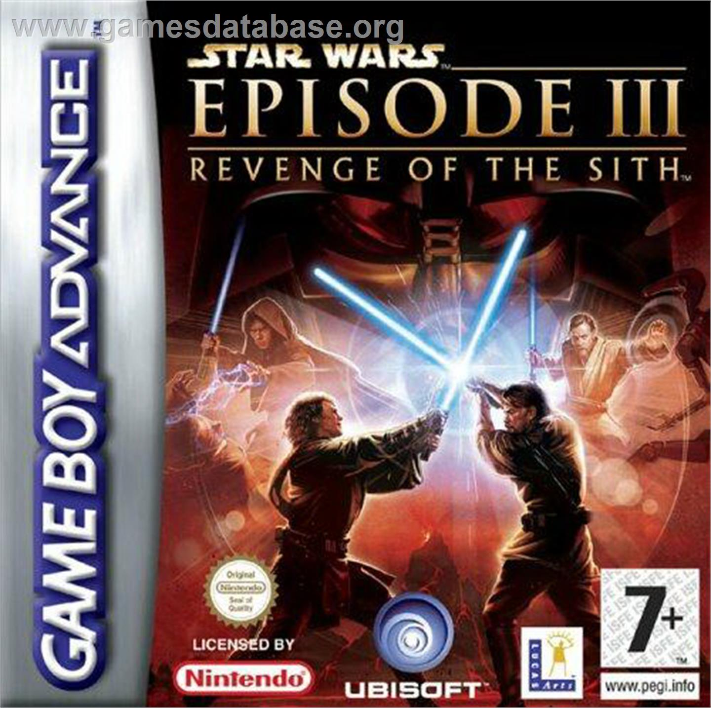 Star Wars Episode III Revenge of the Sith video game ...