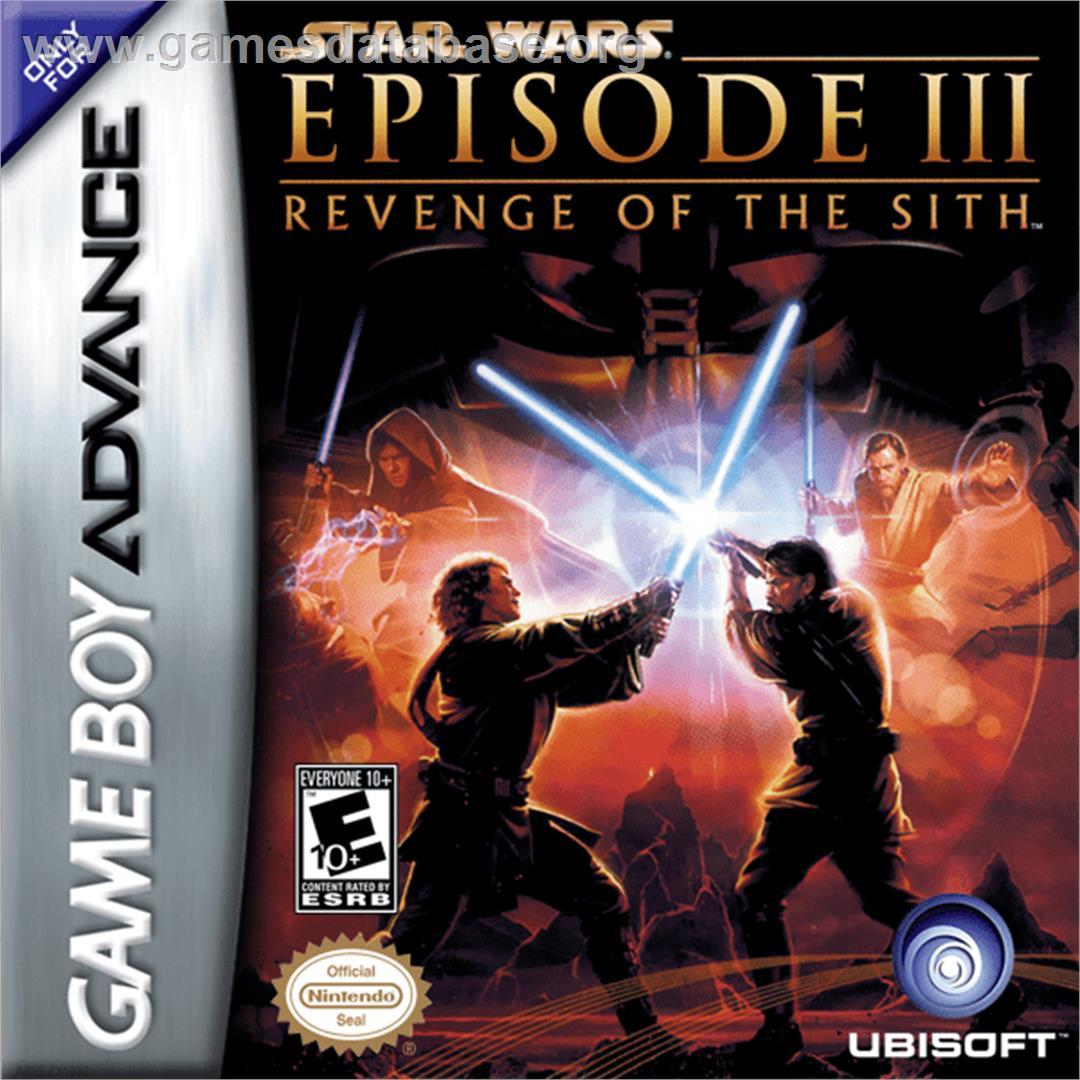 Star Wars Episode Iii Revenge Of The Sith Nintendo Game Boy Advance Artwork Box