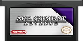Cartridge artwork for Ace Combat Advance on the Nintendo Game Boy Advance.