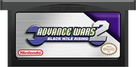 Cartridge artwork for Advance Wars 2: Black Hole Rising on the Nintendo Game Boy Advance.