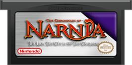 Cartridge artwork for Chronicles of Narnia: The Lion, the Witch and the Wardrobe on the Nintendo Game Boy Advance.