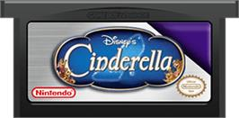 Cartridge artwork for Cinderella: Magical Dreams on the Nintendo Game Boy Advance.
