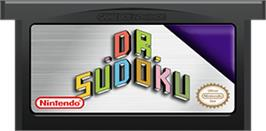 Cartridge artwork for Dr. Sudoku on the Nintendo Game Boy Advance.