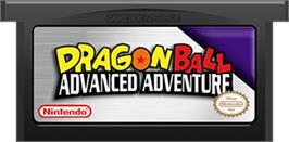 Cartridge artwork for Dragonball: Advanced Adventure on the Nintendo Game Boy Advance.