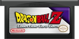 Cartridge artwork for Dragonball Z Collectible Card Game on the Nintendo Game Boy Advance.