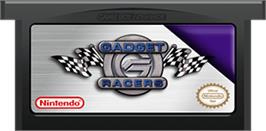 Cartridge artwork for Gadget Racers on the Nintendo Game Boy Advance.