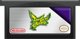 Cartridge artwork for Jet Grind Radio on the Nintendo Game Boy Advance.