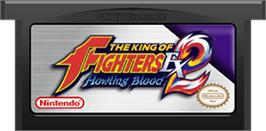 Cartridge artwork for King of Fighters EX2: Howling Blood on the Nintendo Game Boy Advance.