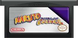 Cartridge artwork for Naruto: Ninja Council on the Nintendo Game Boy Advance.