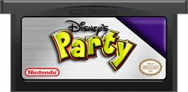 Cartridge artwork for Party on the Nintendo Game Boy Advance.